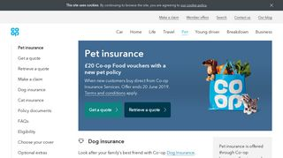 Co-Op Pet Insurance